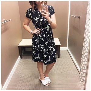 Ann Taylor Factory Wrap Dress